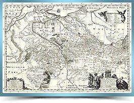 Генеральна карта України Г. де Боплана 1660 р